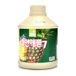 차그림 파인애플 주스 850ml 과일 농축액