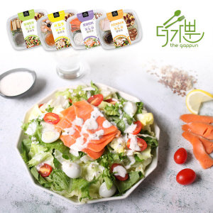 담푸른 더가뿐 야채 샐러드 4팩 세트