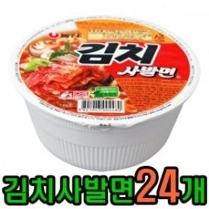 [농심] 농심 김치사발면 x 24개