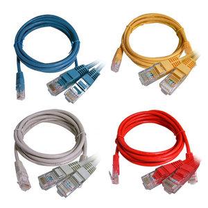 [칼론] 랜선 랜케이블 인터넷 공유기 UPT LAN 연결 CAT.5E 2M