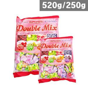멜랜드 더블믹스 520g/250g 4가지맛 봉지사탕 캔디