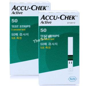 [아큐첵] 아큐첵 액티브 혈당시험지 2박스 100매