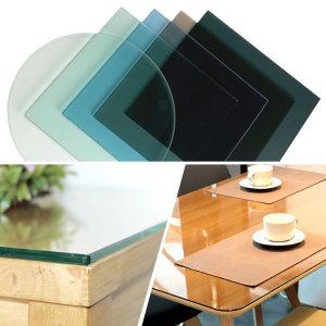 [유리키스] 식탁 책상 테이블 강화유리 맞춤 제작