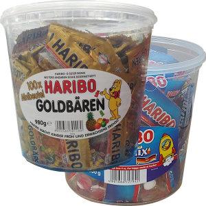 [하리보] HARIBO 하리보 골드베렌 젤리 980G/트롤리버거젤리
