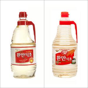 [오뚜기] 롯데 환만식초 1.8L 발효식초 식초