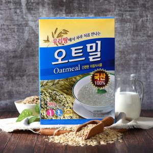 [두보식품] 미이랑 오트밀 500g (국산) /국산/귀리쌀/씨리얼