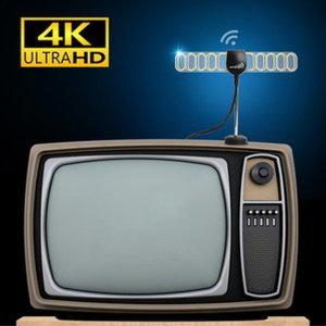 [마루느루] UHD 지상파 DTV HD TV 빔테나 실내 디지털 TV 안테나