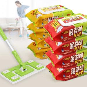물걸레청소포 30매X4팩/막대걸레/밀대걸레/청소포