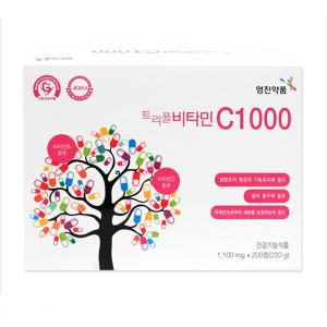 [영진약품] 영진 트리플 비타민C 1000 200정 비타민D B복합영양제