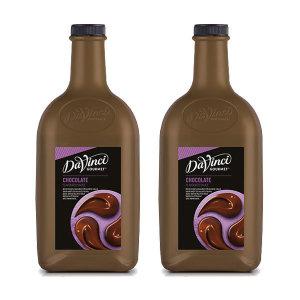 다빈치 초콜렛 소스 (2.6kgx2개)/초코소스/다빈치소스