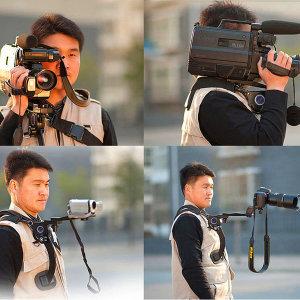 카메라거치대/카메라 어께 거치대/떨림방지