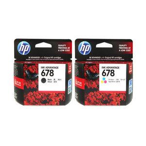 [HP] 정품잉크 No.678 CZ107AA+CZ108AA 세트 최신상품