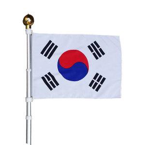 알루미늄 회전깃대 태극기/국기함/광복절 (슬리브형)