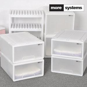 [모아시스템즈] 시스템 서랍장 중형 4개세트/ 수납장 리빙박스