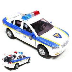 현대자동차 YF쏘나타 경찰차 미니카 장난감자동차