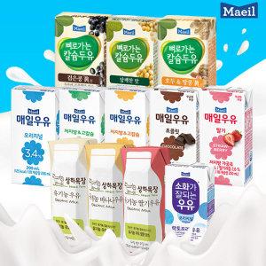 [매일유업] 매일 멸균우유 200mlX24팩/서울우유/매일우유/저지방
