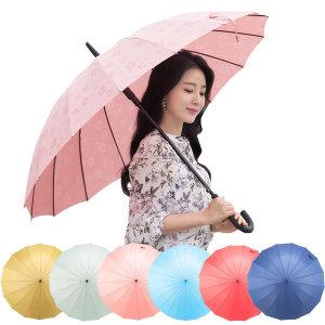 비가오면 꽃이피는 자동 사쿠라장우산/고급벚꽃우산