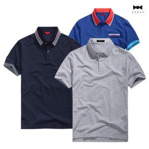 고급 카라티 남자 티셔츠 반팔카라 단체티 카라티셔츠