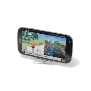 엑시온 컴팩트 스마트폰 거치대 투명 회전형
