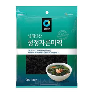 [청정원] 청정원 남해안산 청정 자른미역 20g(8인분)