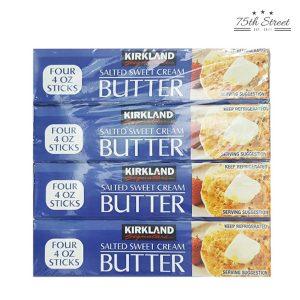커클랜드 가염 버터 453g x 4개 + 아이스박스