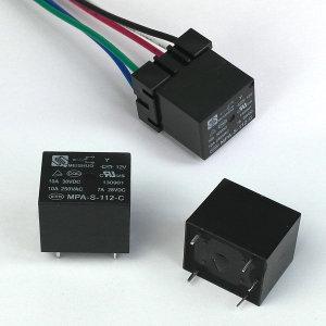 릴레이 10A 5p 소켓 12V 24V pcb 커넥터 LED diy 배선