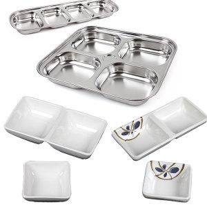 [포스아트] 초장그릇 모음/초장기 1구 2구 접시 간장 종지 앞접시