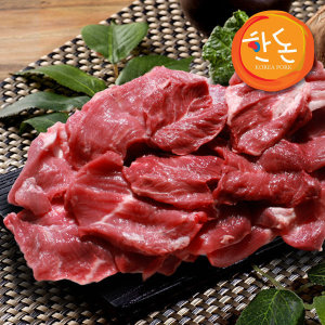 (한돈)국내산 돼지 잡고기 400g