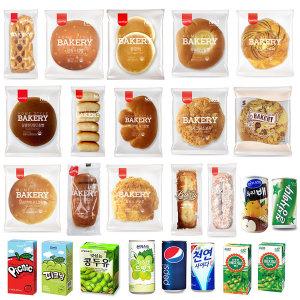 [샤니] 보아스몰 삼립 간식빵1박스/크림빵 24봉/단체간식