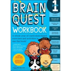 Brain Quest Workbook : Grade 1  Ages 6-7  Lisa Trumbauer  Betsy Rogers