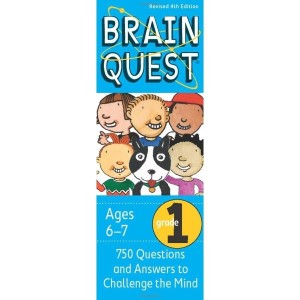 Brain Quest Grade 1 : 750 Questions and Answers to Challenge the Mind  Chris Welles Feder  Susa...