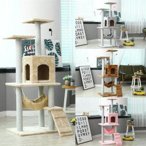 고양이 캣타워 하우스 큐티캣타워173 베이지