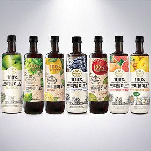 쁘띠첼 미초 900ml/홍초/흑초/파인애플식초/음료