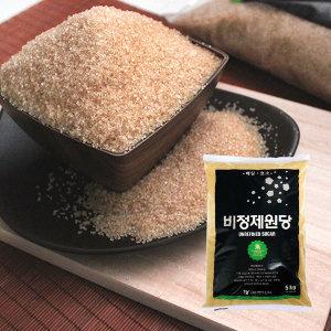 [쪽빛누리] 명인상사 설탕 대신 비정제 원당 15kg /사탕수수100%