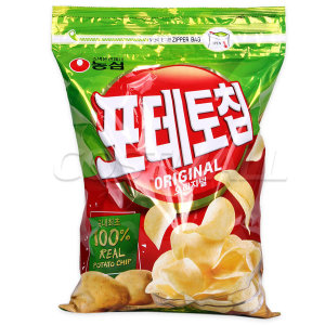 [포테토칩] 농심 포테토칩 오리지날 390g/스낵/감자칩/포테이토칩
