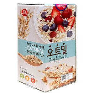 [두보식품] 미이랑 오트밀 1.2KG/코스트코/귀리/씨리얼