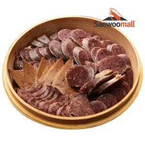 [새우몰] 국내산 순대 내장 1.7kg 돼지 간 허파 소창 염통 위