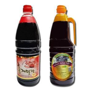 [홍게맛장] 홍게맛장(간장) 골드/액젓/다시마/장아찌/멸치/홍합