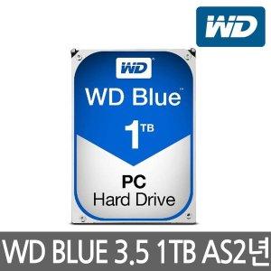 [웨스턴디지털] WD정품 WD10EZEX 1TB HDD 3.5형 64M 7200RPM AS 2년