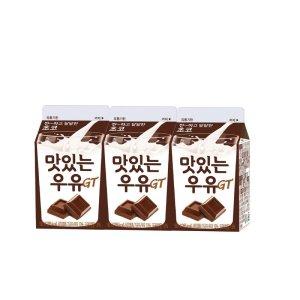 [남양] 남양 맛있는 초코우유 180MLx3