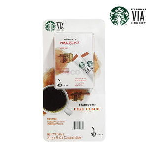 [스타벅스] 스타벅스 비아 파이크플레이스 커피 2.1gX26 인스턴트