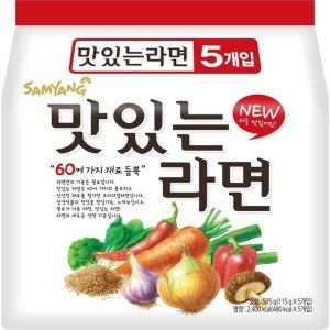 [맛있는라면] (행사상품)삼양 맛있는라면 115Gx5입