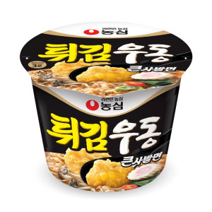 [튀김우동] 농심 x튀김우동큰사발 111G