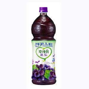 [썬키스트] (행사상품)해태음료 썬키스트후레쉬포도50% 1.5L