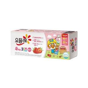 [굿모닝우유] 빙그레 짜먹는요플레키즈딸기 40Gx6