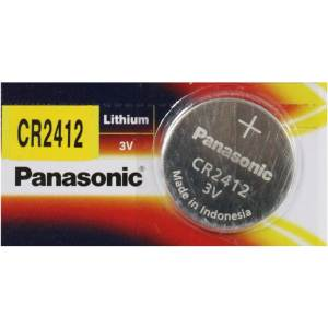 [파나소닉] 파나소닉 리튬배터리 수은전지(동전배터리)CR2412-1알
