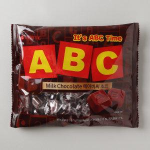 [ABC초콜릿] (1+1)롯데 ABC초코렛 200G