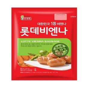 [롯데비엔나] 롯데햄 롯데비엔나 380gx2