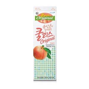 [소와나무] 동원 쿨피스플러스투복숭아 930ML