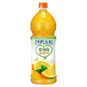 [썬키스트] 해태음료 썬키스트후레쉬오렌지50% 1.5L
